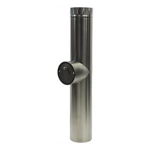 Long Stainless Steel Pipe with Barometric Damper