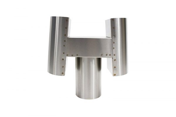 Stainless Steel H Exhaust Cap