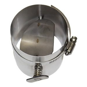 Stainless Steel Manual Flue Damper