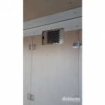 Radex Radiator Hot Water Forced Air Heater Model