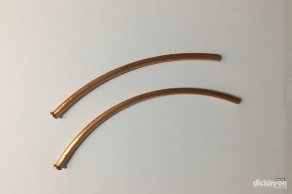 Copper connection pipes 6mm