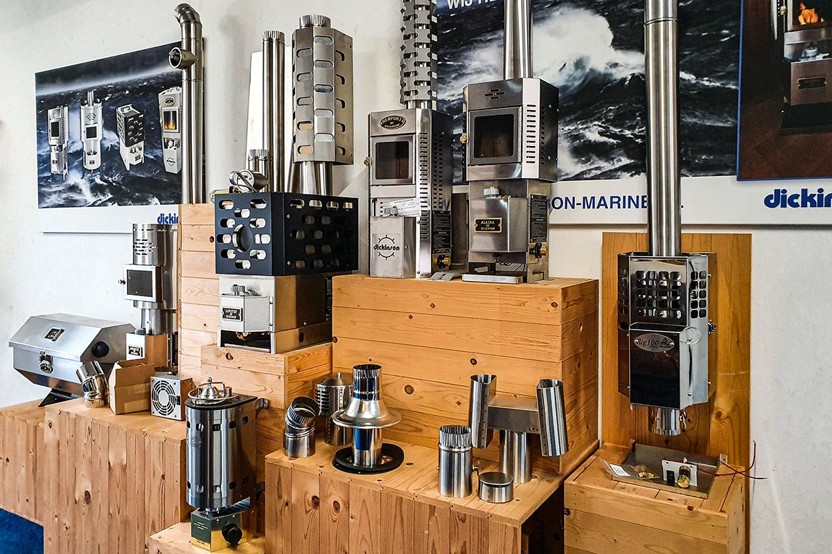Dickinson Marine Showroom Nederland